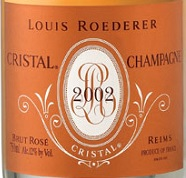 "Louis Roederer Cristal  Rosé ""Collection Privee""2002"